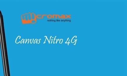 micromax canavas nitro 4g specs