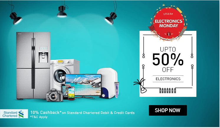 snapdeal electronics diwali sale
