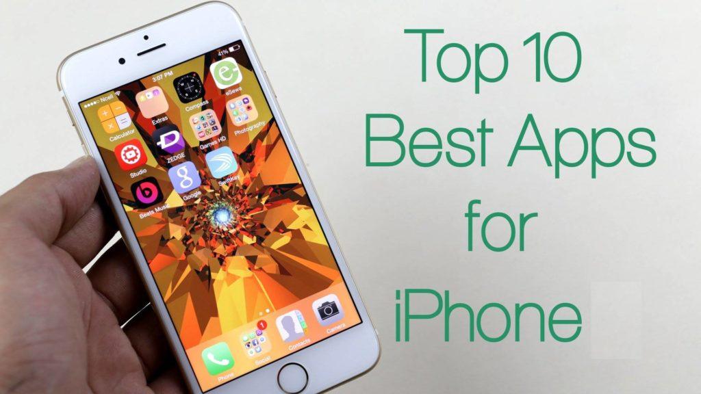 Apple iPhone top 10 apps