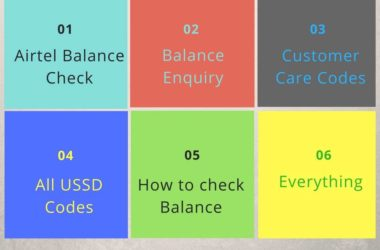 How to check airtel balance enquiry ussd codes (3)