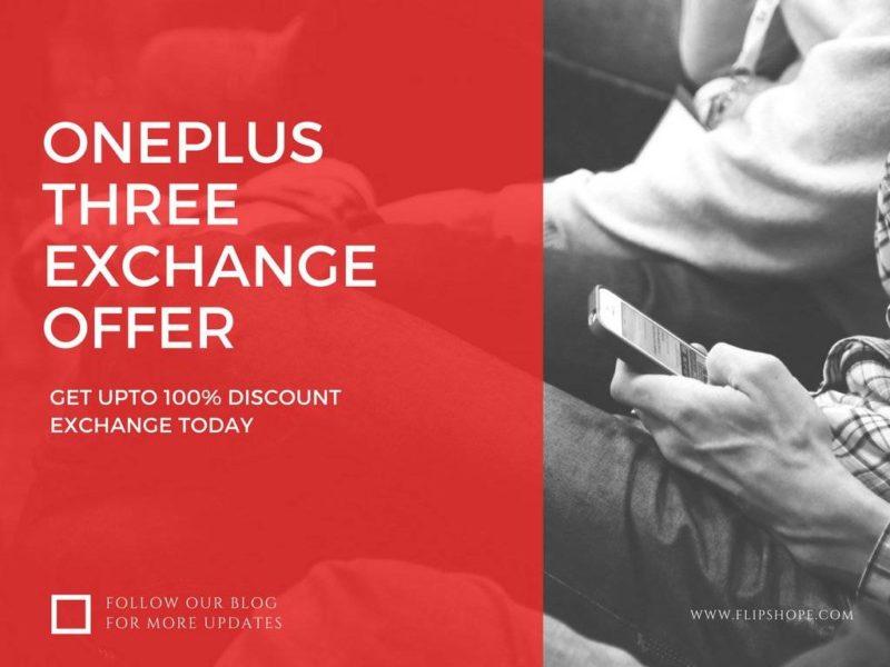 OnePlus Three Amazon Exchange Offer (1)