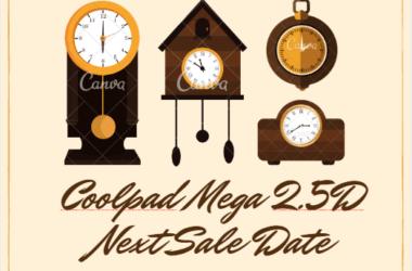 coolpad mega 2.5d next sale date