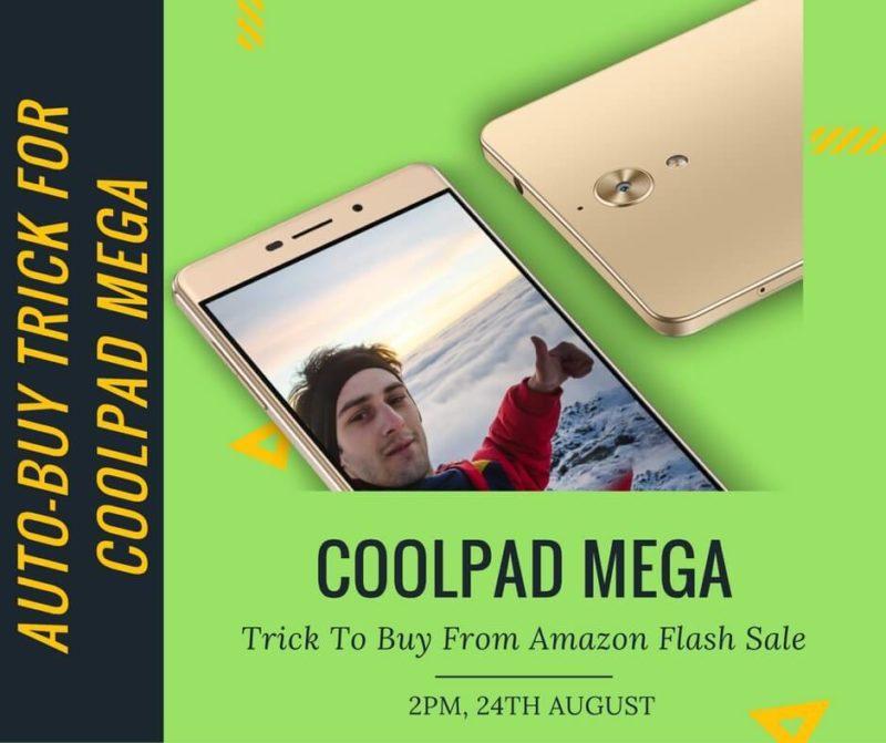 coolpad mega flash sale