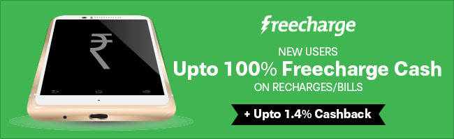 freecharge Independence Day Offers