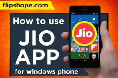 jio app for window phones