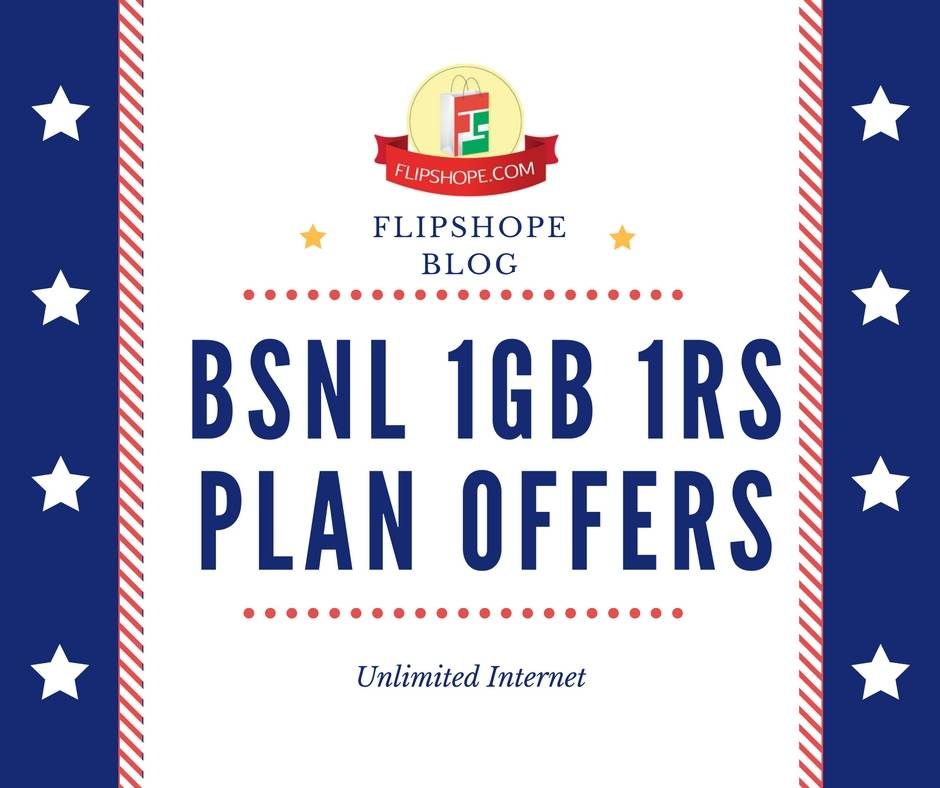 BSNL 1Gb 1RS Plan Offers