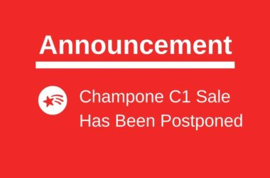 Champone C1 sale postponed