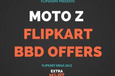 flipkart moto z big billion day offer