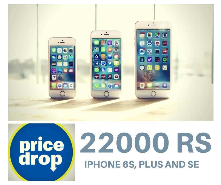 apple iphone 6s plus price drop