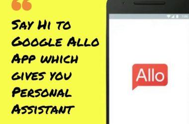 google allo app features