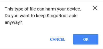 kingoroot-apk-download-warning