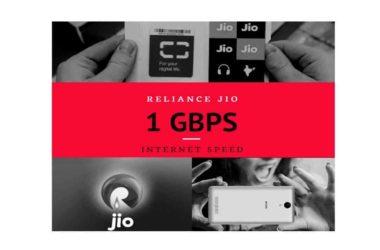 Reliance jio maximum speed