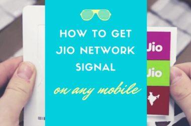 reliance jio sim no network signal problem