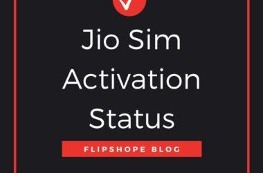 jio sim activation status