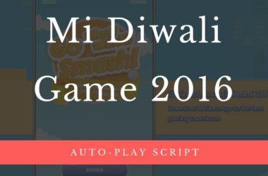 mi diwali game 2016 win redmi 3s prime