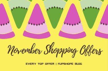 november online shopping offers 2016