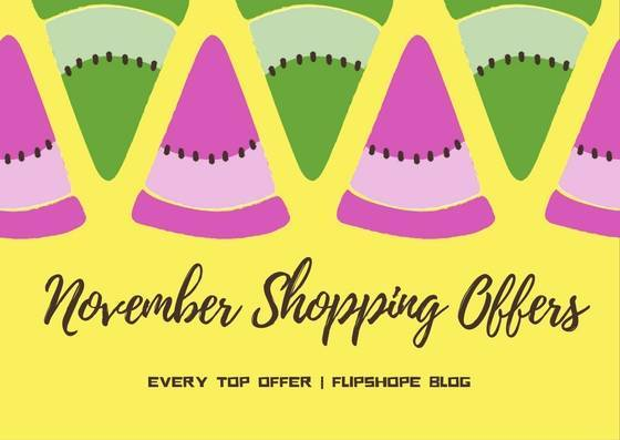 november online shopping offers 2016