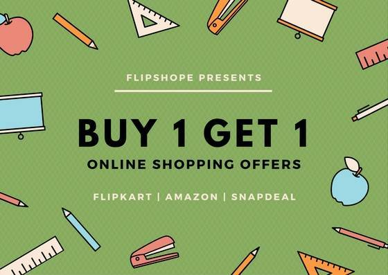 how to get buy 1 get 1 free offers online shopping