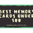 best memory cards under 500 INR