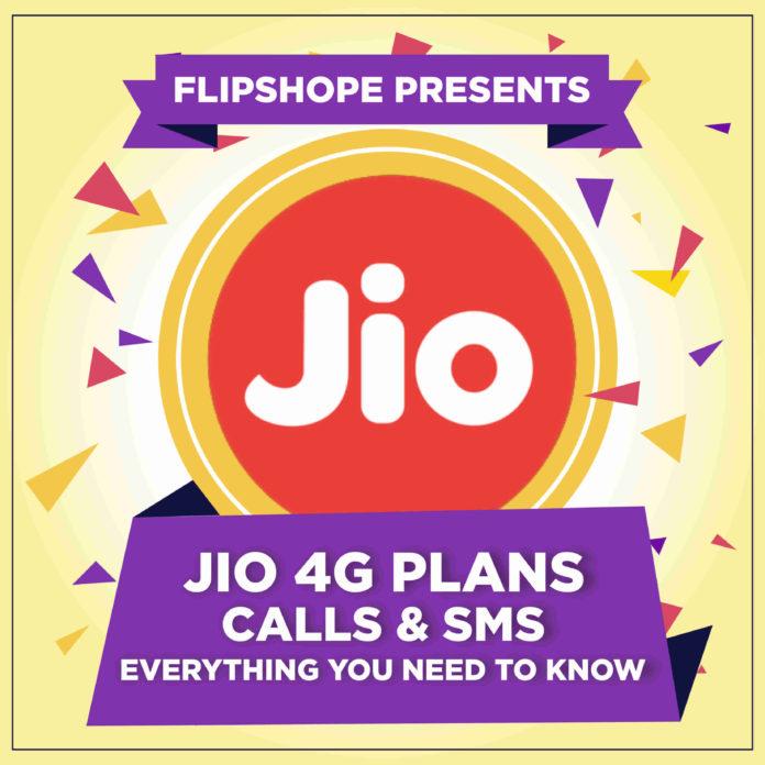 Reliance Jio 4G Plans