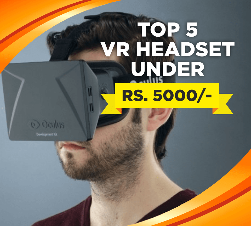 Top 5 VR headset in india