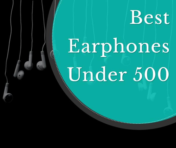 best earphones under 500 rs india