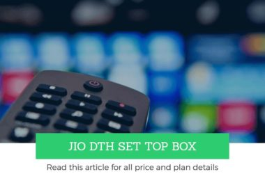 jio dth set top box price connection plans