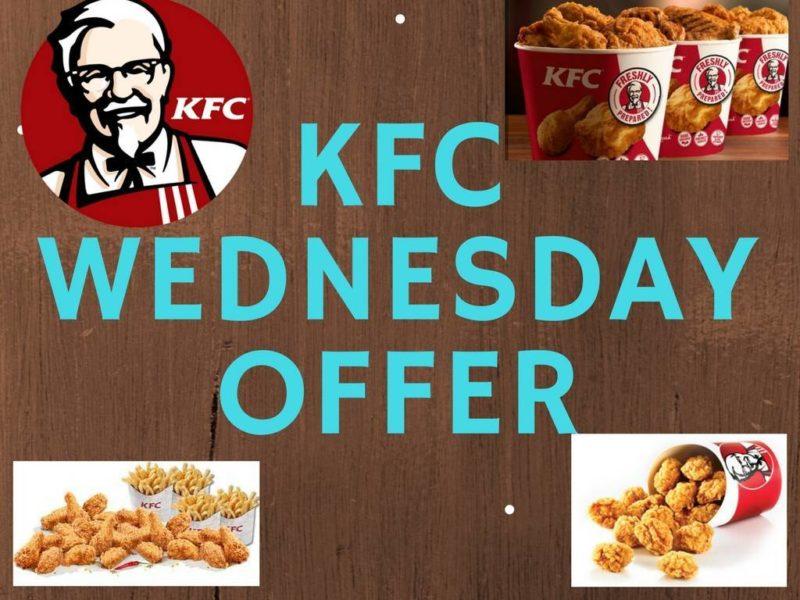 KFC Wednesday Offer