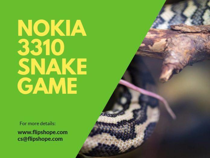 new nokia 3310 snake game