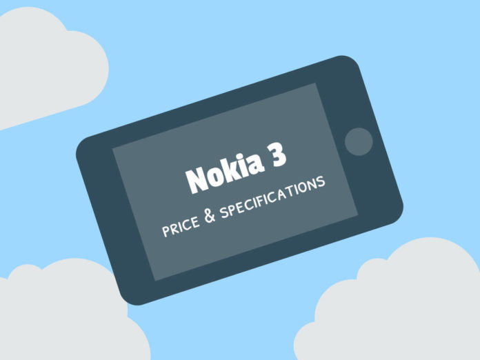 Nokia 3 Price Specifications in India