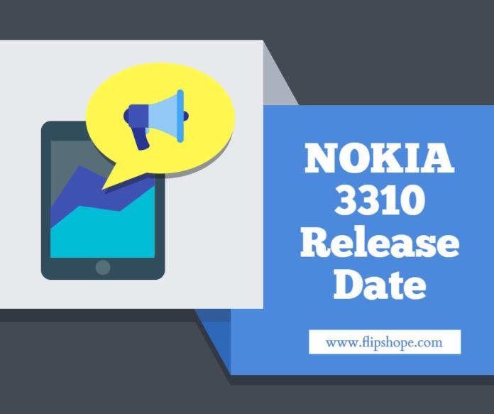 Nokia 3310 Release Date in india