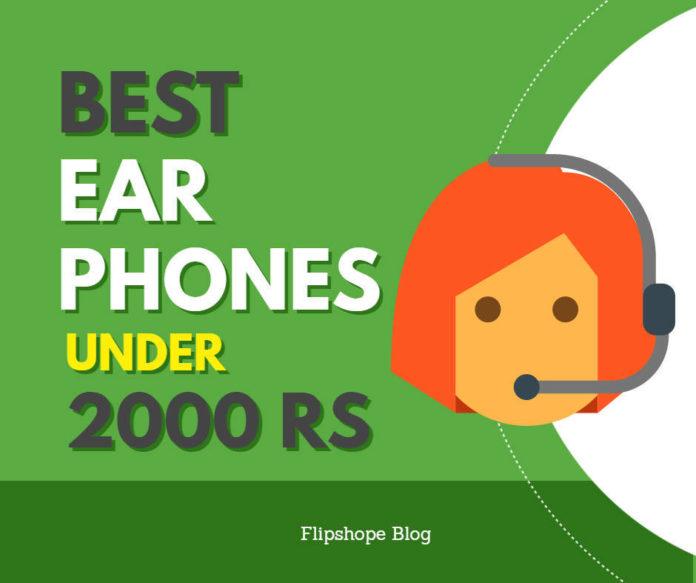 Best Earphones Under 2000 rs india