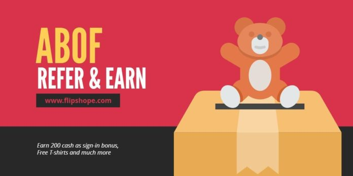 Abof Refer and Earn Abof Free T-shirts Abof 200 Rs Credits