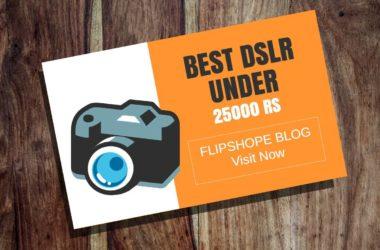 Best DSLR Camera Under 25000