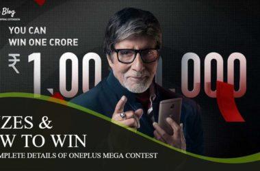 Oneplus best smartphone contest dates prizes