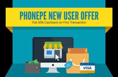 PhonePe New User Offer promocode