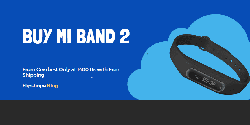 How to buy Mi band 2