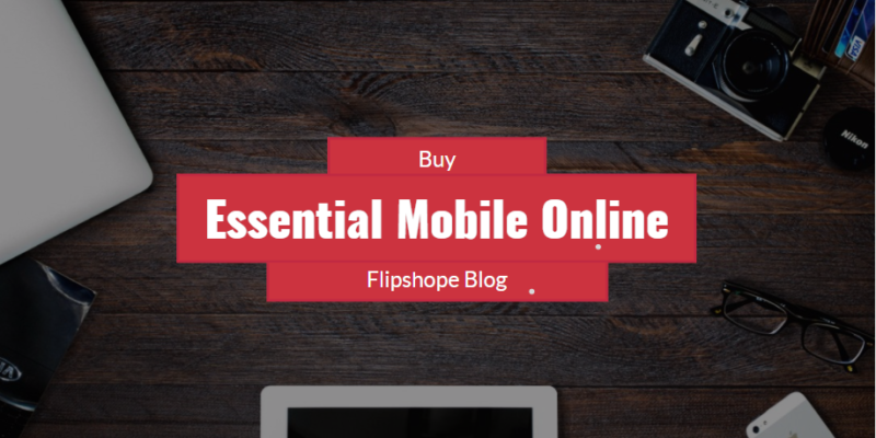 buy essential mobile online booking in India