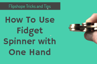 how to use fidget spinner