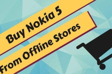 Buy Nokia 5 Offline Stores