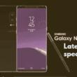Samsung Galaxy Note 8 leaks