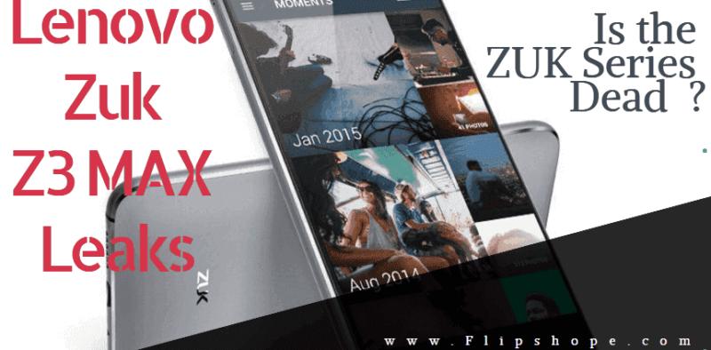 Lenovo Zuk Z3 Max