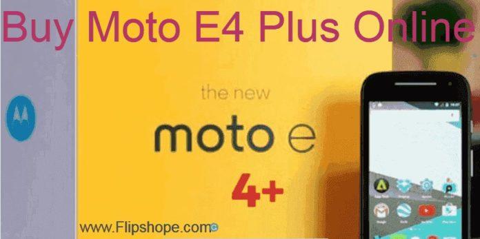 Buy moto E4 plus online