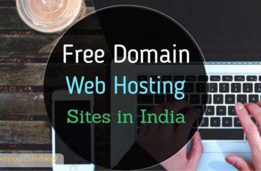 Free Domain web hosting