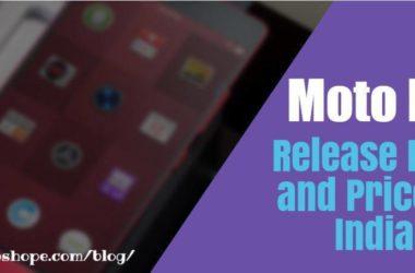 Moto E4 Release Date and Price in India