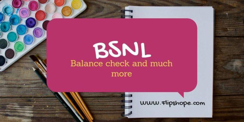 BSNL USSD codes list