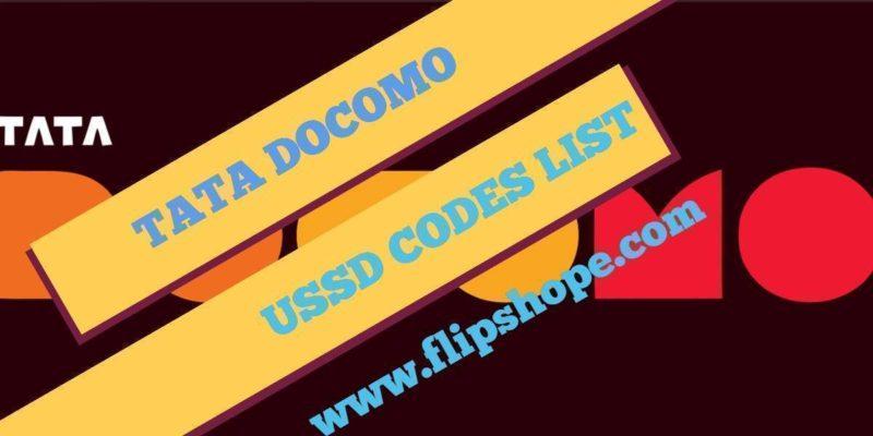 Tata DOCOMO USSD Codes