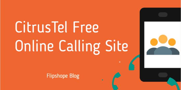 citrustel website free online call rates credits