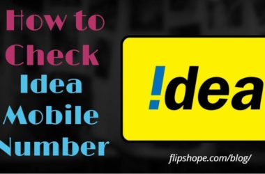 How to Check Idea Mobile Number