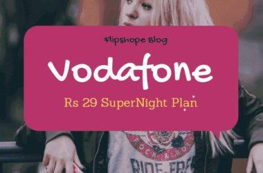 vodafone rs 29 supernight plan
